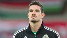 Norwich City's Kyle Lafferty.