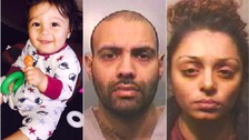 Man who murdered girlfriend's baby in 'most shocking case ever seen' jailed for life
