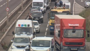 Traffic caught up on the A1