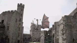 Students and graduates from the University of South Wales have developed a dragon