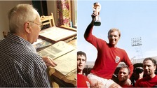 Norman Watkins was at Wembley when Bobby Moore lifted the World Cup.