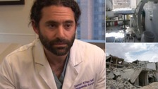 Doctors tell of 'horrifying' conditions in Syrian city of Aleppo
