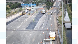 This weekend sees a second round of full closures for the A38 (M) Aston Expressway and the M6 junction 6 in Birmingham.