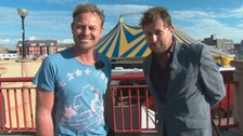 Jason Donovan visits Wales for Rhyl's Coast to Coast festival