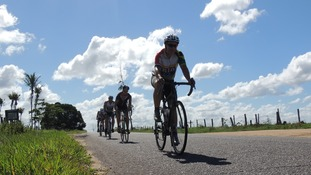 Ride to Rio Team reach final stages of epic challenge