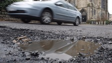 Breakdowns due to pothole damage double in a decade