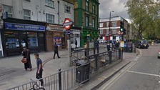 Man stabbed to death in front of tube passengers