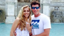 Former Royal Marine Duncan Potts - who was recently engaged - has died in a climbing accident in the French Alps.