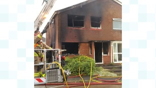 Home gutted