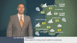 Wales weather: A cool evening ahead!