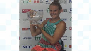 It's British open title number two for Jordanne Whiley