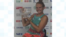 Two time British open singles champion, Jordanne Whiley