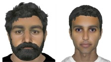 An e-fit of the two wanted men.