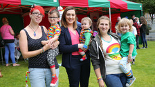 Megan Fearon at Big Pride Picnic