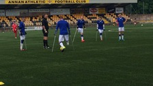Scotland's first amputee football tournament held in Annan