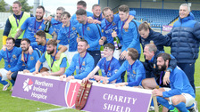 Glenavon win Charity Shield