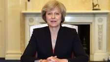 Theresa May announces crackdown on modern slavery