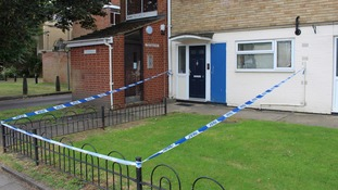 A man and woman have been arrested on suspicion of attempted murder of a three-month-old baby.