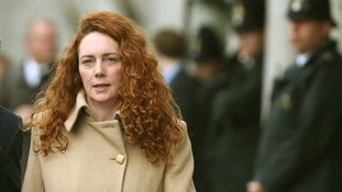 Rebekah Brooks seen last month at the Old Bailey