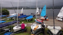 Last year's regatta was hit by high winds.