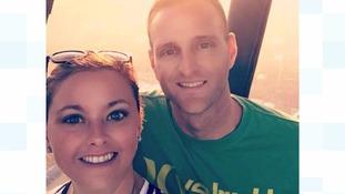 Newlyweds sent haunting skyline photo shortly before fatal hot air balloon crash