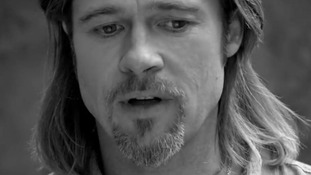 Confusion over Brad Pitt's new role as face of Chanel N°5 fragrance