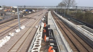 Work to complete a £50 million new railway station in Cambridge is being stepped up.