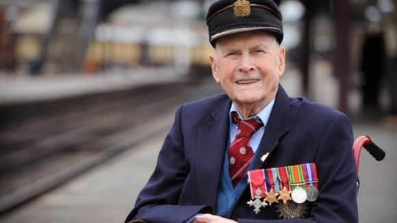 Bernard Holden MBE said &#x27;steam was in his blood&#x27;.