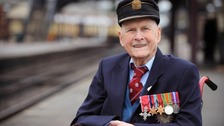 Bernard Holden MBE said 'steam was in his blood'.