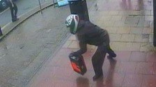 The cash in transit driver was robbed in North Manchester