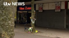 Scene of crime in Ashton-Under-Lyne