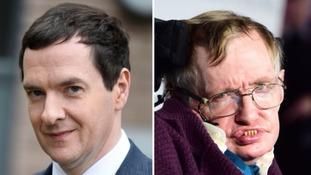 Should George Osborne share honour with Stephen Hawking?