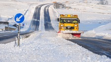The A66 often experiences extreme conditions