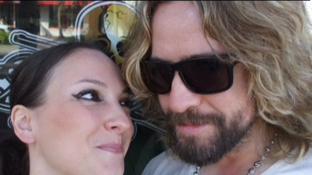 Anna Larke and Justin Lee Collins