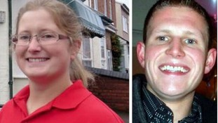 William Lound (right) and sister Gini who took her own life after his murder