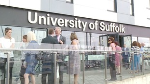 Suffolk was one of only four counties without its own university.