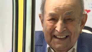 At 103 former ice cream man Giovanni Rozzo is still driving an vintage ice cream van.