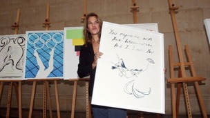 Margate-born artist, Tracey Emin, has donated four postcards to the auction