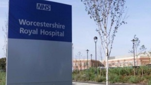 Worcestershire Royal Hospital.