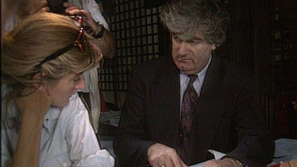 Karadzic personally arranged for ITN&#x27;s visit to the heart of war-torn Bosnia