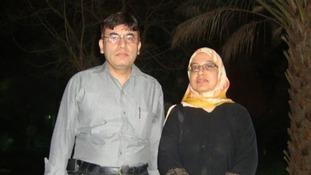 Dr Abdul Shakoor and his wife Sabah Usmani