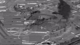 RAF bombs Islamic State training base in Saddam Hussein's former palace