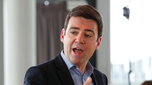 Andy Burnham has urged Theresa May to secure the future of the Northern Powerhouse.