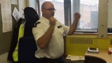 Insp David George posted his video on Twitter