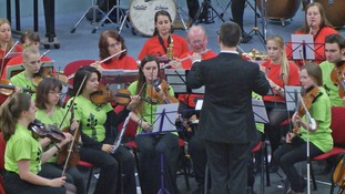 The People's Orchestra Sandwell in practice