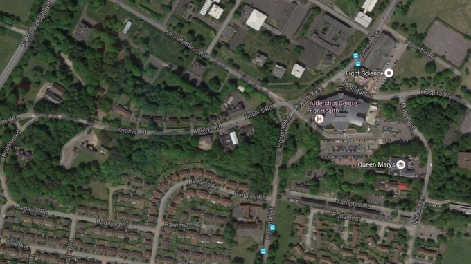 Police investigating suspicious incident at Aldershot Garrison ITV