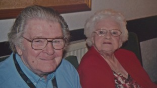 Eric and Madge Bazley face being split up, after a lifetime together.