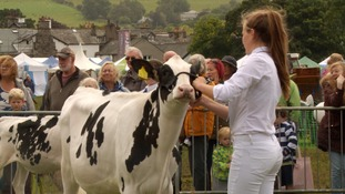 The Cartmel Show is one of the most important in Cumbria's farming calendar