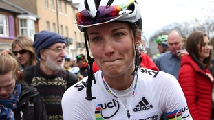 Lizzie Armitstead was hurt by comments from social media users after she missed doping tests.