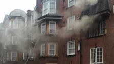 35 fire engines tackled the blaze and helped save those trapped